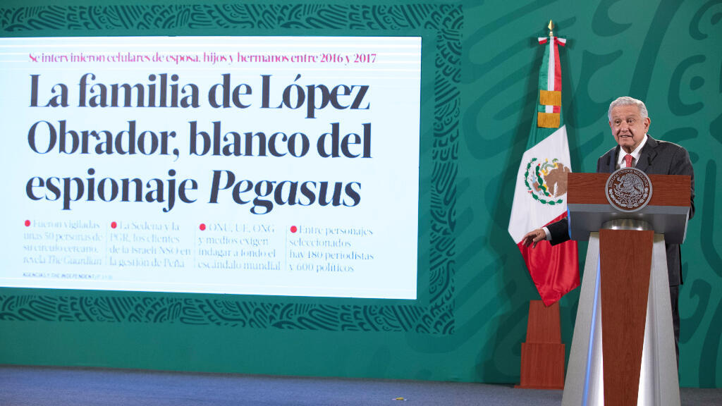 The Guardian newspaper reported that at least 50 people close to López Obrador, among others, were potentially spied on by the previous administration of President Enrique Peña Nieto.