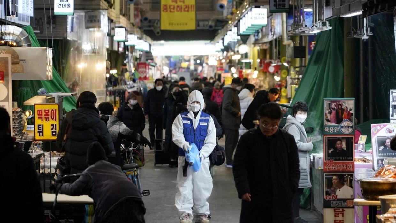 South Korea coronavirus cases jump as China tallies 150 more deaths