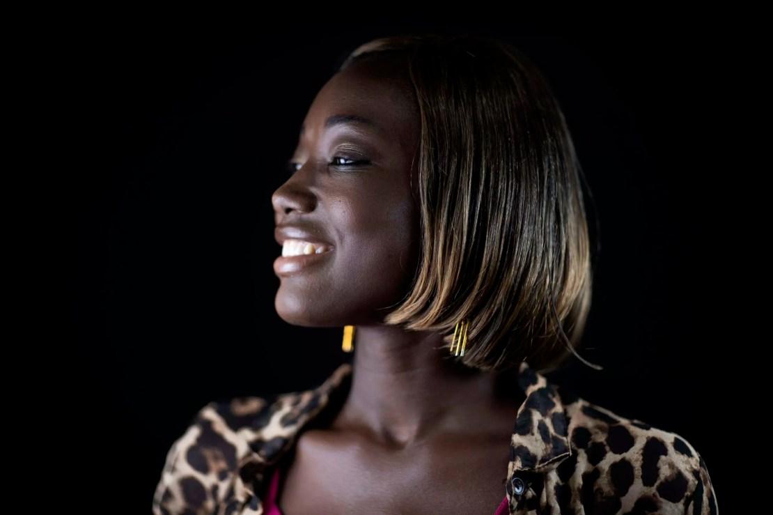 Star quality: Burkinabe actress Mouniratou Gouem at the 2019 FESPACO