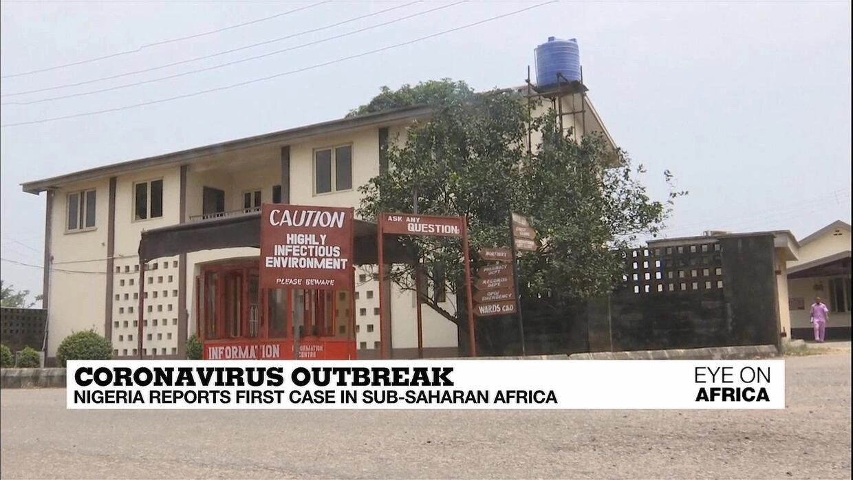 Coronavirus outbreak: Nigeria reports first case in sub-Saharan ...