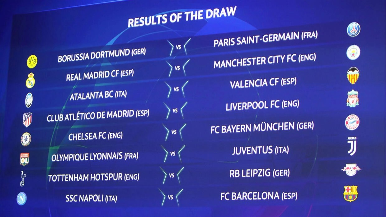 Champions League: Liverpool to face Atletico, Madrid to play ...