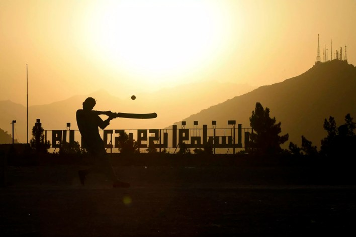Cricket was picked up in Pakistan by Afghan refugees who then seeded it in their home country