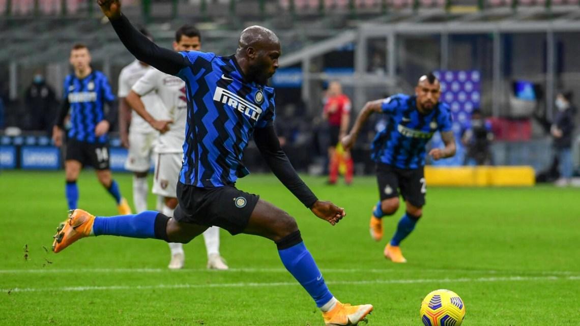 Romelu Lukaku has scored 12 goals in 13 games for Inter Milan.