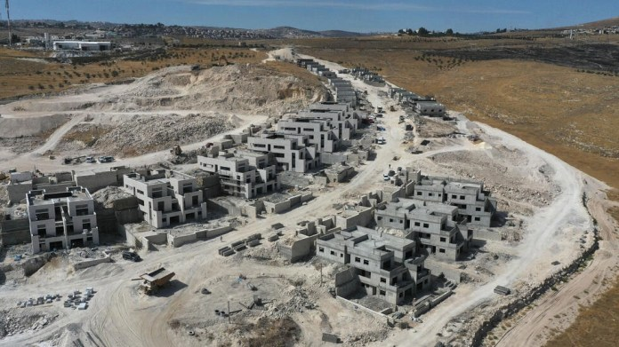 NGO Peace Now says Israel's resumption of settlement expansion across the occupied West Bank deals a blow to hopes of a wider Israeli-Arab peace after normalisation deals with two Gulf states earlier this year