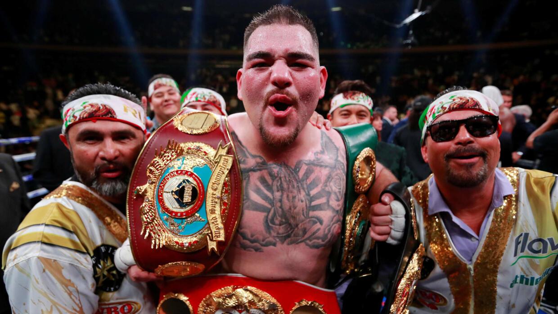 Image result for Andy Ruiz Jr. (boxeo)