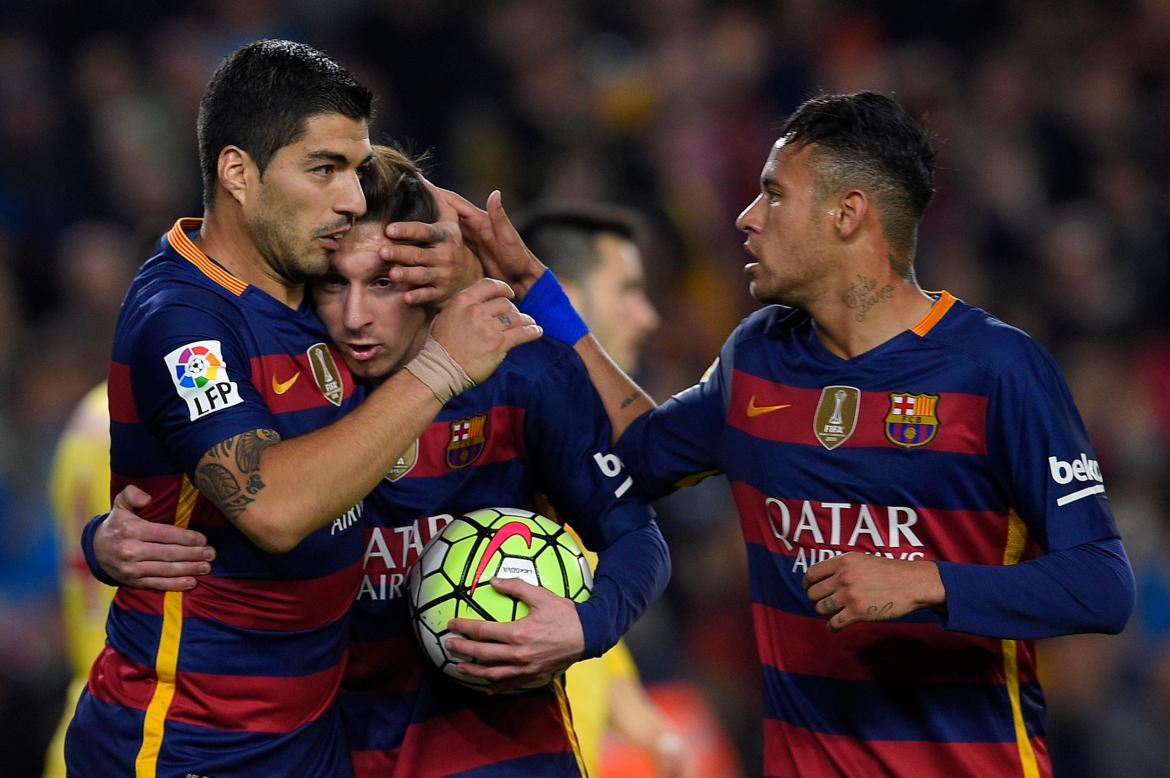 MSN was one of the most formidable offensive tridents in football history.