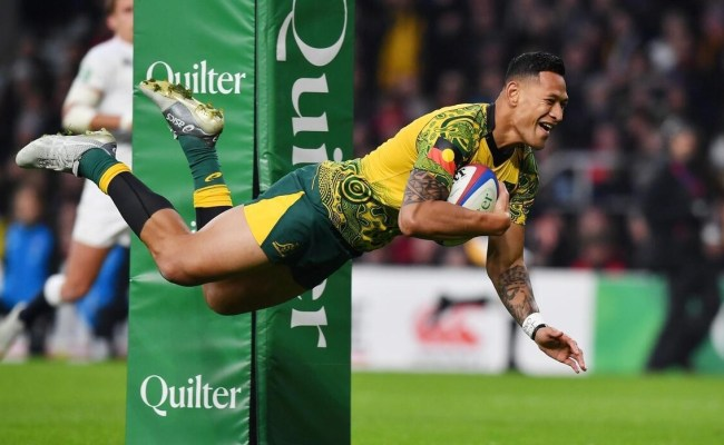 Rugby The Australian Federation And Folau Settled Their