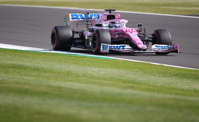 F1 British Gp Racing Point Makes The Buzz On Friday