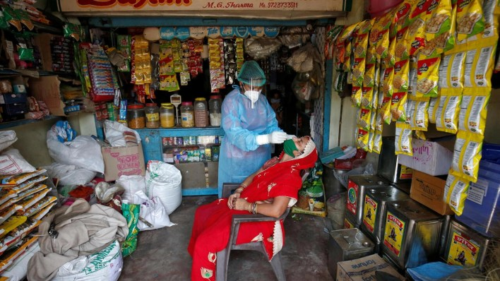 india's covid-19 cases top 4 million as virus hits rural hinterland