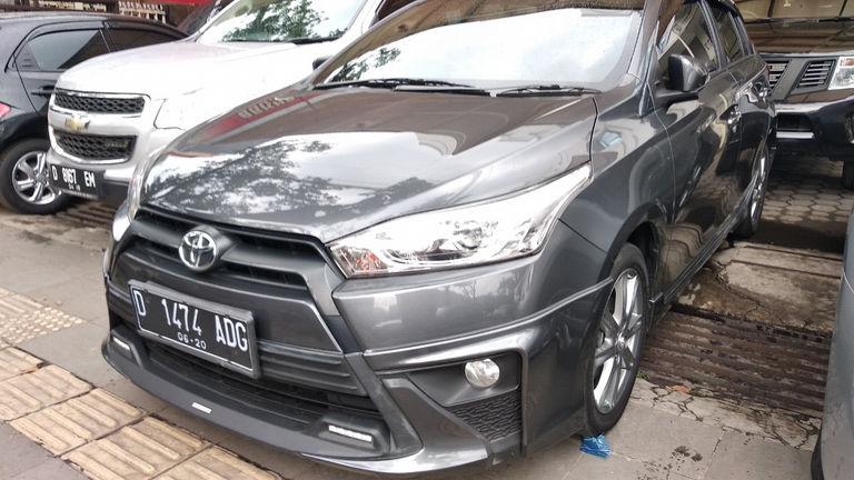 toyota yaris trd sportivo bekas bandung limited jual mobil 2015 kota 00cu839 mulus terawat kondisi ok tangguh preview