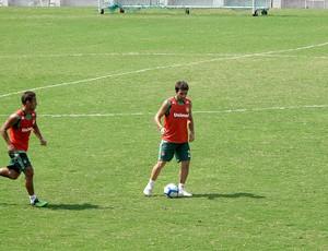 Deco no treino do Fluminense