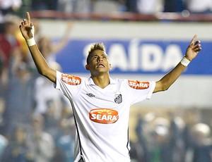 Neymar gol Santos