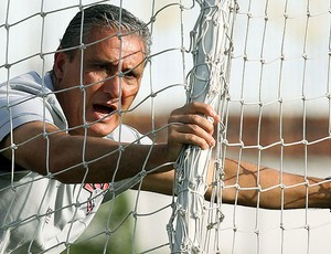 Tite no treino do Corinthians (Foto: Ag. Estado)
