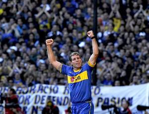 Martin Palermo boca juniors gol river plate (Foto: agência AFP)