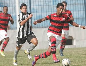jogo de juniores entre Flamengo e Botafogo (Foto: Fábio Borges / VIPCOMM)