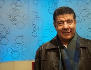 Joel Santana no Bem, Amigos! (Foto: Wagner Bordin/SporTV.com)