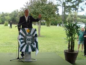 Vilson Ribeiro de Andrade, vice-presidente do Coritiba (Foto: Gabriel Hamilko / Globoesporte.com)