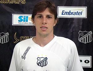 Gustavo Valezi do Bragantino (Foto: Divulgação / Site oficial do Bragantino)
