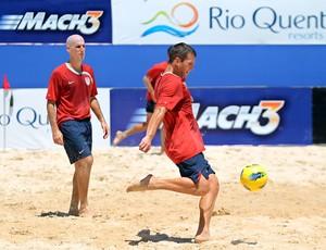 Estados Unidos Copa América de futebol de areia Rio Quente Goiás (Foto: Wander Roberto/Divulgação)
