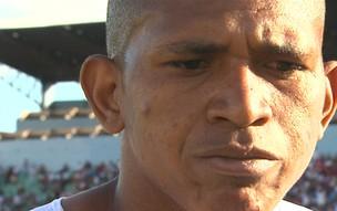 Bombinha nega que tenha comemorado gol do Corinthians (Foto: Reprodução EPTV)