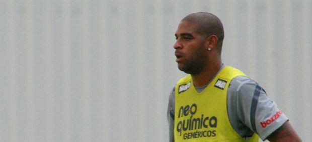 Adriano, do Corinthians (Foto: Anderson Rodrigues / globoesporte.com)