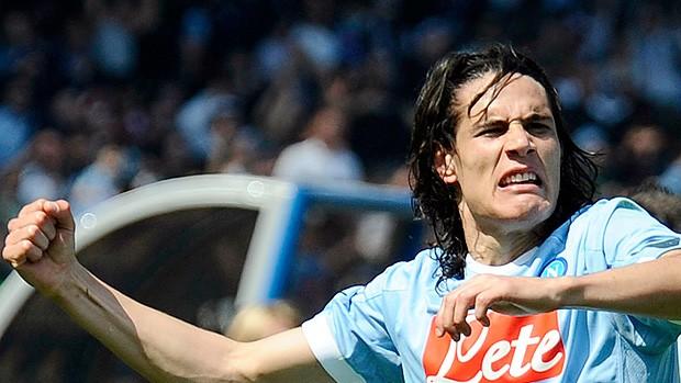 Cavani gol Napoli (Foto: AP)
