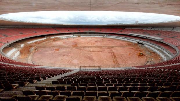 obras mineirao (Foto: Sylvio Coutinho / Divulgação)