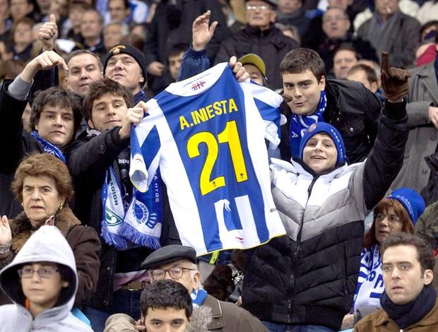 camisa torcida espanyol iniesta barcelona
