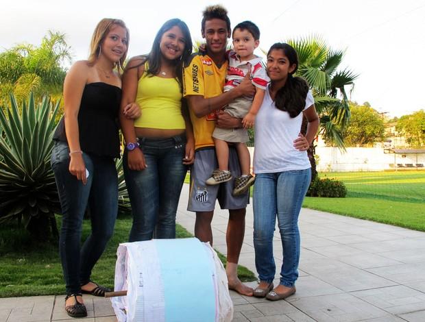 neymar santos carta (Foto: Adilson Barros/Globoesporte.com)