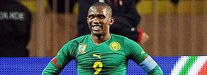 Samuel Eto´o na seleção de Camarões