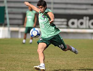 Conca no treino do Fluminense