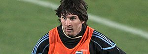 Messi treino Argentina