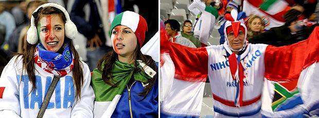 Itália x Paraguai: confira o pré-jogo ao vivo (AFP)