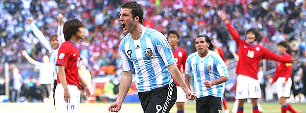 Argentina impressiona com 3 de Higuaín (Getty Images)