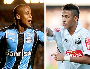 montagem: Borges e Neymar