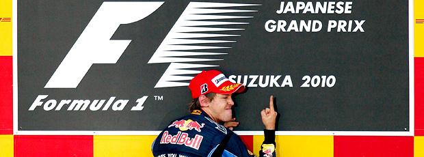 Vettel vence o GP do Japão e volta à briga (agência Reuters)