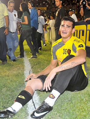 Saulo goleiro Sport (Foto: Gazeta Press)