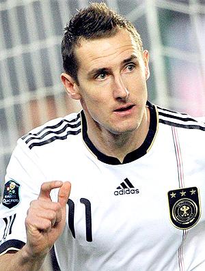 Miroslav Klose Thomas Muller gol Alemanha (Foto: EFE)