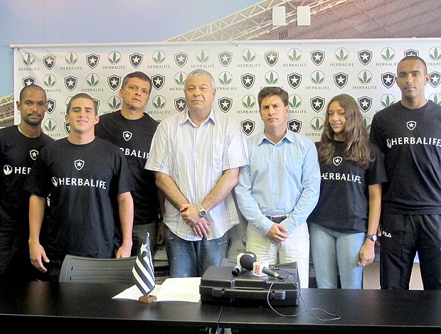 Botafogo Herbalife (Foto: Thiago Fernandes / Globoesporte.com)