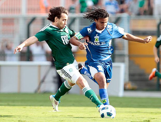 Valdivia Palmeiras x Santo André (Foto: Ag. Estado)
