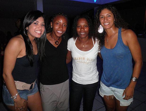 Maurine Ester Formiga Cristiane futebol Feminino (Foto: Divulgação)