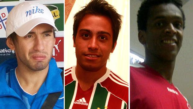Marcelo Cañete, Martinuccio, Jô (Foto: Montagem sobre foto do Globoesporte.com)