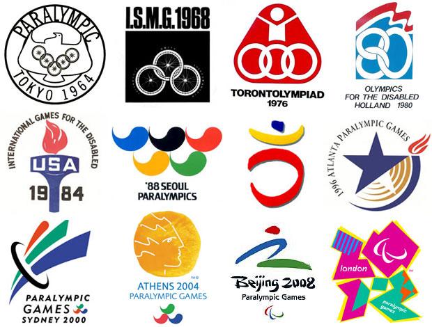 Logomarcas - paraolimpíadas (Foto: Divulgação)