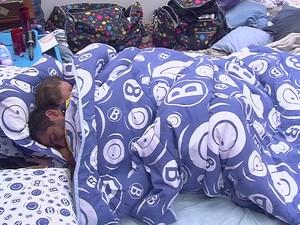BBB às 17h43m do dia 02/02. (Foto: Big Brother Brasil)