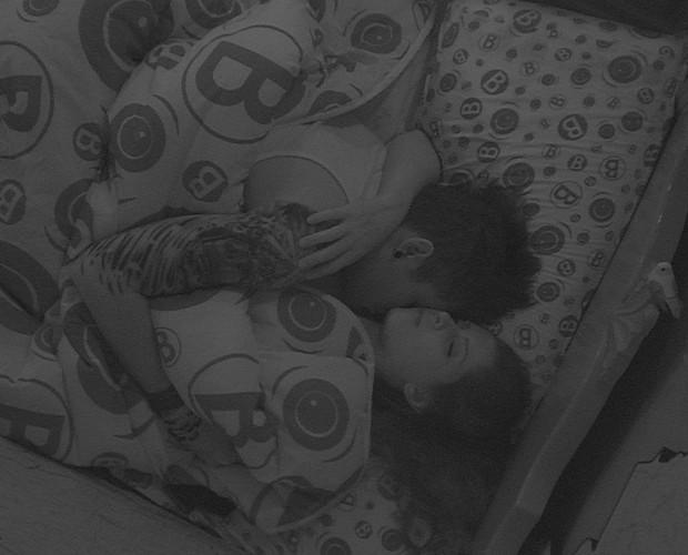 BBB às 09h03m do dia 14/01. (Foto: Big Brother Brasil)