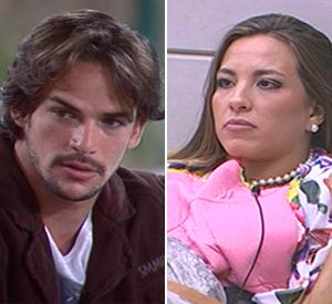 Rodrigo e Michelly recebem mais votos e são eliminados (BBB/TV Globo)