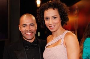 Rodrigo Sant'anna e Thalita Carauta (Foto: Domingão do Faustão / TV Globo)