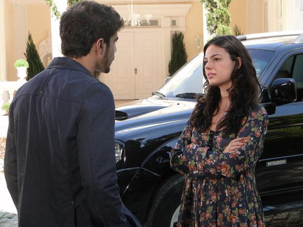 Marcela fica indignada de saber que Edgar dormiu com Luisa