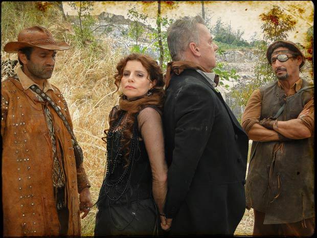 Úrsula e Nicolau são capturados pelo bando de Herculano