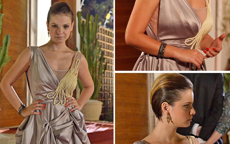 O vestido eleito de Vanessa